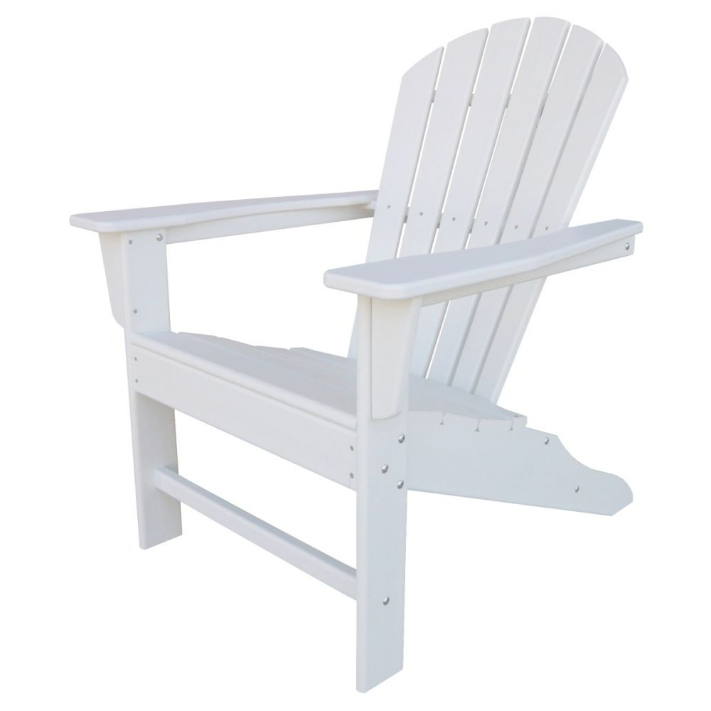 witterungbest ndiger kunststoff adirondack chair in wei. Black Bedroom Furniture Sets. Home Design Ideas
