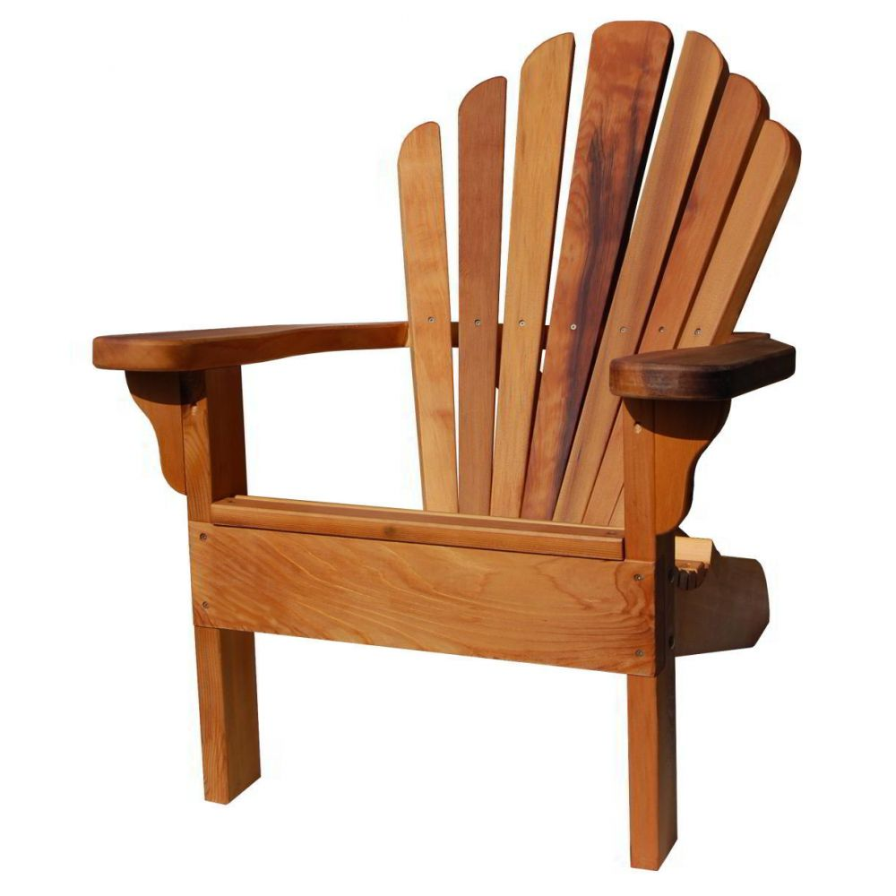 original amerikanischer adirondack chair aus western red cedar. Black Bedroom Furniture Sets. Home Design Ideas