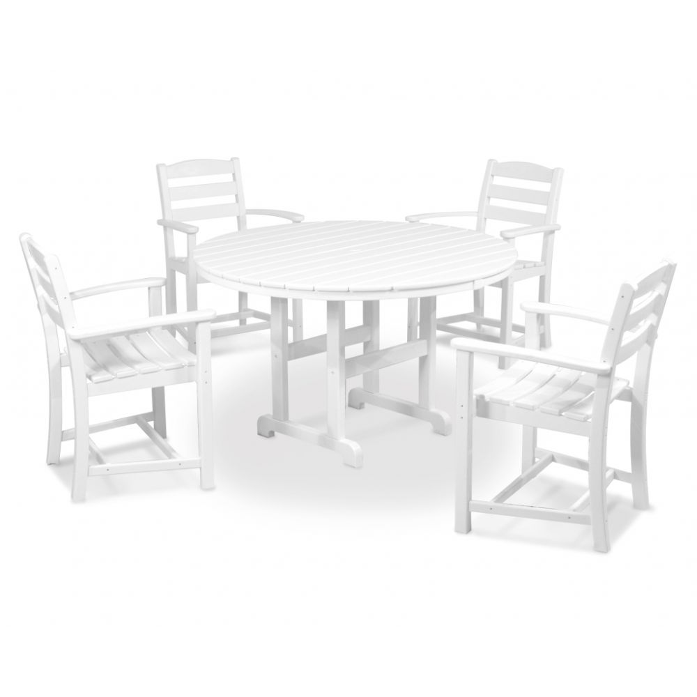 la casa caf 5 piece dining set. Black Bedroom Furniture Sets. Home Design Ideas