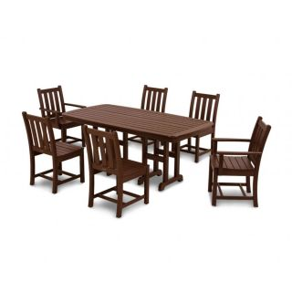 Traditional Garden 7-Piece Dining Set