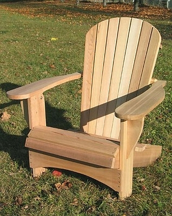 gartenm bel amerikanischer adirondack chair. Black Bedroom Furniture Sets. Home Design Ideas