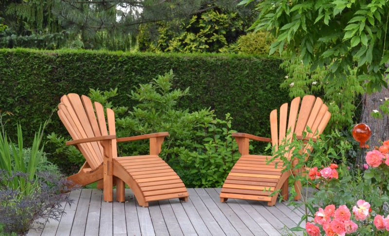 Adirondack Dream Chairs im Garten