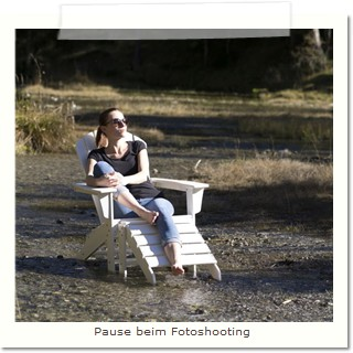 Pause vom Fotoshooting Adirondack Chair All Seasons
