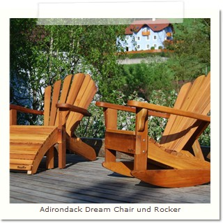 Adirondack Dream Chair und Rocker
