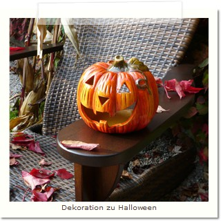 Dekoration zu Halloween